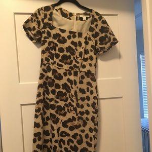 NWT Banana Republic Leopard Print Dress